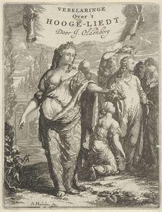Gepersonifieerde Liefde en gelauwerde Christus, Arnold Houbraken, 1689 - 1691