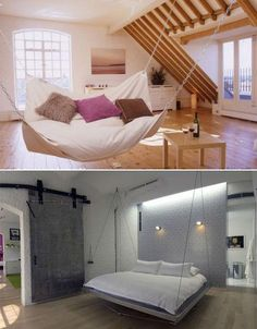 Tempting Swinging Beds
