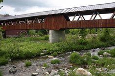 Littleton, NH, covered bridge.