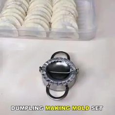 Front Yard Landscaping Discover Set Of Dumpling Mould Make dumplings quickly and easily. Cool Kitchen Gadgets, Home Gadgets, Cooking Gadgets, Cooking Tools, Kitchen Hacks, Cool Kitchens, Cooking Recipes, Cooking Eggs, Cooking Joy
