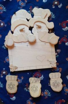 Warm Hands Warm Heart Holiday Time Snowmen Blank Wood Crafts Decoration  Jolly