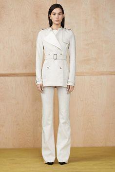 @roressclothes closet ideas #women fashion outfit #clothing style apparel Altuzarra White Pantsuit