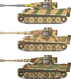 German Tiger 1, operational beginning in 1942.