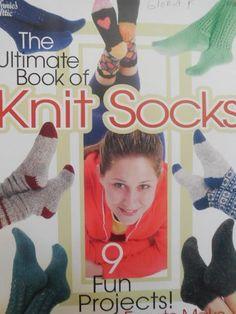 Annie's Attic THE ULTIMATE BOOK OF KNIT SOCKS Patterns #AnniesAttic