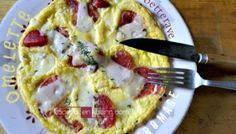 Recette omelette fromage Ossau Iraty et betterave - Kaderick