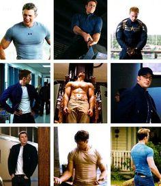Captain America . chris evans // HOLY MOTHER OF GOD