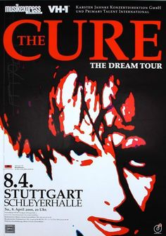 The Cure Concert Poster https://www.facebook.com/FromTheWaybackMachine/