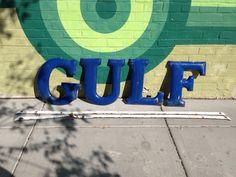 Gulf Oul Porcelain Letters!