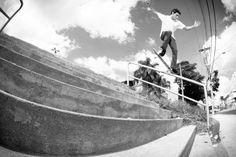 """GLAUBER MARQUES - MAKING OF (OLHO DE PEIXE) - http://DAILYSKATETUBE.COM/glauber-marques-making-of-olho-de-peixe/ - Glauber Marques, skatista profissional da Element Brasil e o Element Advocate Diogo Ramos """"Gema"""" estiveram juntos na zona leste de São Paulo, para gravar a nova vinheta de abertura do programa """"Olho de Peixe"""" do canal Woohoo. Foto: Thomas Teixeira Source: https://www.youtube.com/watch?v=FsCsqO2sTl4 - Glauber, making, Marques, OLHO, PEIXE"""