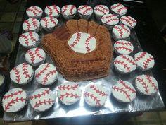 Baseball Cakes | baseball cake and cupcakes | Cakes