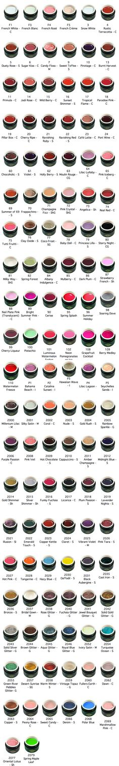 The Bio Sculpture colours on offer with our nail technician at the Hand and Foot Studio Bio Gel Nails, Us Nails, Gel Nail Art, Hair And Nails, Gel Nail Colors, Gel Color, Bio Sculpture Gel Nails, Spa Quotes, Strong Nails