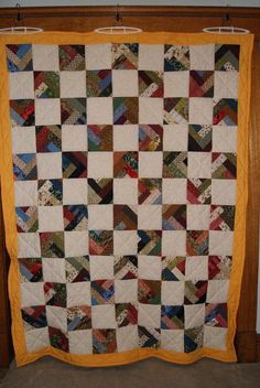 Charity Quilt  - via @Craftsy
