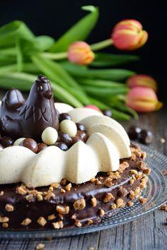 Chic, chic, chocolat...: Gâteau de Pâques: l'Oeuforik choco praliné
