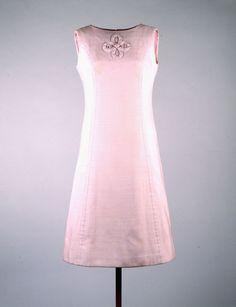 Mauve Day Dress by Oleg Cassini 1963
