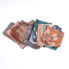 Four Liberty scarves in this sale