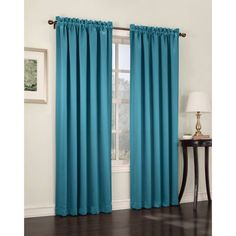 Sun Zero Kylee Room-Darkening Curtain Panel - Walmart.com