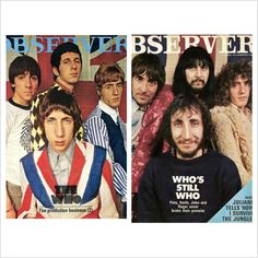 Observer covers from 1966 & 1972