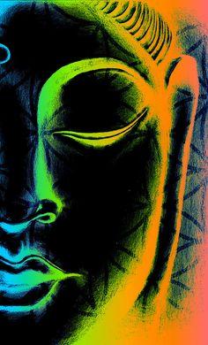 "eyepukeart: "" Life Of Zen "" Buddha Art Buddha Kunst, Buddha Zen, Gautama Buddha, Buddha Buddhism, Buddhist Art, Yoga Kunst, Buddha Painting, Yoga Art, Reiki"