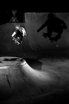 Darcy Bacha. Skateboarding.