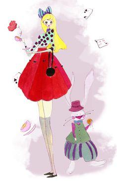 My version of Alice in Wonderland!  Idmary Hernandez