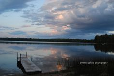 Morning Storm at Carpenter Lake in Eagle River, WI