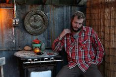 He is so hobo chic. I want to sit on his lap and have him sing to me. #justinvernon