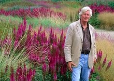 """""""All my work is related to trying to recreate spontaneous feeling of plants in nature. The idea is not to copy nature, but to give a feeling of nature,""""   —Piet Oudolf"""