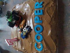 Cooper birthday cake