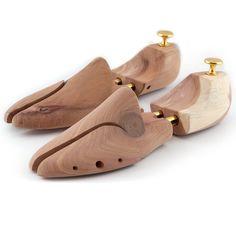 Lumaland allarga scarpe di Qualità con doppia molla in legno di cedro  Tendiscarpe Forme allargascarpe Forma per calzature Unisex misura 44 45 b382453064a