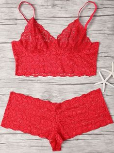 SHARE & Get it FREE   Spaghetti Straps Lace Bra SetFor Fashion Lovers only:80,000+ Items • New Arrivals Daily Join Zaful: Get YOUR $50 NOW!