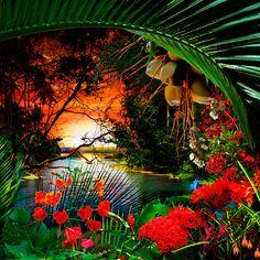 THE SMILE OF THE BEYOND / Satoshi Matsuyama  #Satoshi Matsuyama #Hawaii #art #Landscape