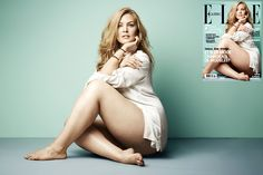 Justine Legault Plus Size Model Elle Quebec