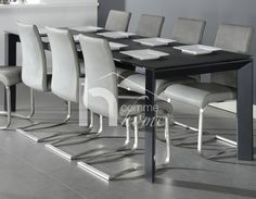 Dining Chairs, Design, Furniture, Home Decor, Glass Top Dining Table, Extendable Dining Table, Decoration Home, Room Decor