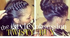 STYLE OBSESSION   The Twisty Bun
