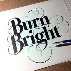 Beautiful Hand-Lettering Work by Jason Vandenberg