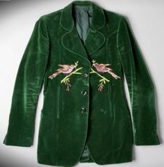 The Rolling Stones guitarist Keith Richards velour jacket from the early 70's from the Hard Rock collection. #hardrock
