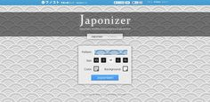 How-to create your own customized backgrounds for FREE using Japonizer!