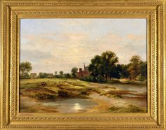 Timothy Langston - A View of Eton from Fellows' Eyot