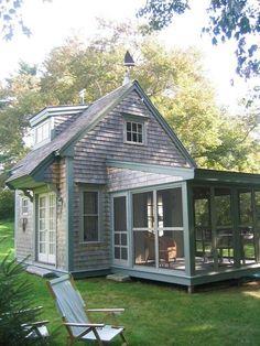 Exploring tiny house living.