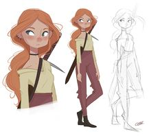 Character Design PartI I - red.hellcat Character Design PartI I on Behance Source You are in the rig Female Character Design, Character Design Inspiration, Girls Characters, Character Design, Character Art, Character Illustration, Character Sketches, Character Design Animation, Character Design References