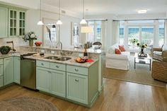 Surfside Narragansett - Traditional - Living Room - providence - by Gilbane Development Company