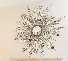 starburst mirror--yet another cool idea!