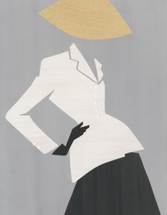 Mats Gustafson Launches Dior Illustrations in a Book - Swedish artist Mats Gustafson, based in New York, is Dior Magazine's illustrator of the haute couture a Mats Gustafson, Fashion History, Fashion Art, Fashion News, Vintage Fashion, Fashion Design, Vintage Dior, Fashion Books, Fashion Magazines