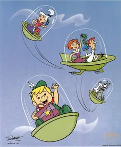 The Jetsons in flight Die Jetsons im Flug Cartoon Cartoon, Vintage Cartoon, Cartoon Shows, Cartoon Images, Cartoon Crazy, Vintage Toys, Old School Cartoons, Retro Cartoons, Classic Cartoons
