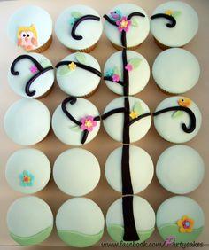 Pin+Wall+Mural+Sweet+Cupcake+Design+Aroma+•+Pixersizecom+Cake+On+