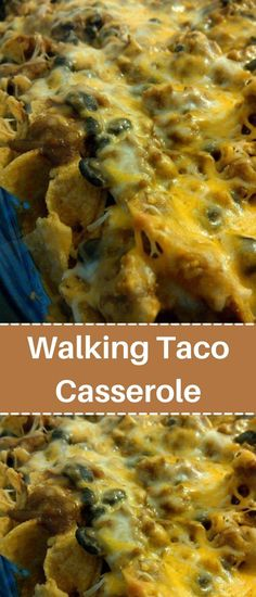 Taco Casserole, Beef Casserole Recipes, Meat Recipes, Mexican Food Recipes, Cooking Recipes, Ethnic Recipes, Hamburger Dishes, Beef Dishes, Cinco De Mayo