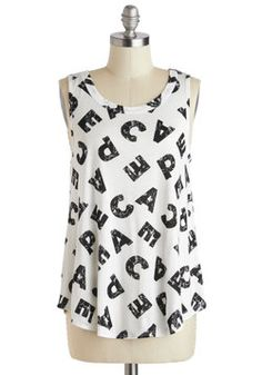 Say Your Peace Top, #ModCloth