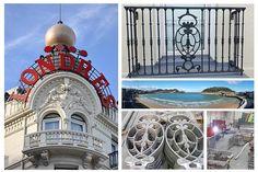El Hotel de Londres de San Sebastián Donostia está ubicado en primera línea de la conocida Playa de la Concha. Es uno de los más antiguos de la ciudad.  #hotel #londres #donostia  #sansebastian #playa #laconcha  #herrería