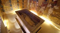 Tutankhamun tomb scans point to hidden chamber, maybe Queen Nefertiti's mummy #Tutankhamun, #Tomb, #Science