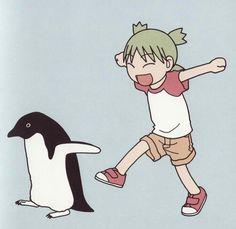 "apinaeadmin: "" A Yotsuba&! photo set, because Tumblr is sorely lacking in this series """
